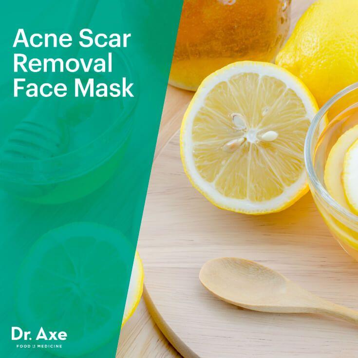 Acne scar removal face mask - Dr. Axe