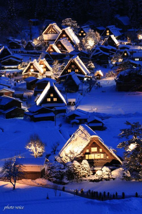 the World Heritage, Shirakawa Village in Gifu, Japan