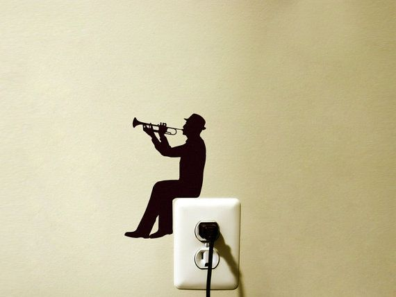 trumpet wall decals - Google Search
