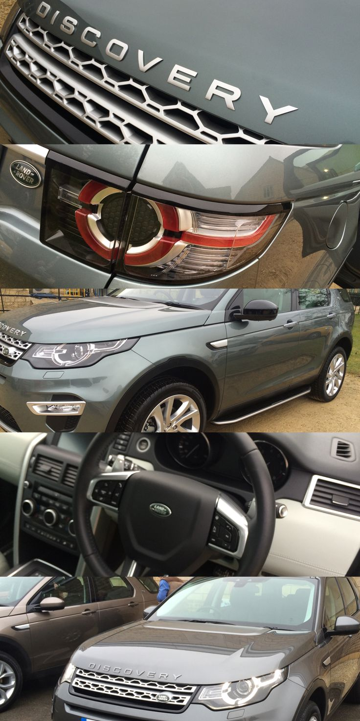 The New Land Rover Discovery Sport another winner from #landrover #hibernot images from the UK Launch