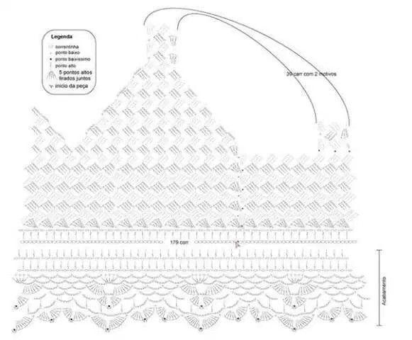 246 best diagrama en crochet images on pinterest