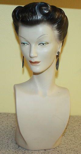 De 25 bedste id er inden for vintage mannequin p for Mannequin de couture deco