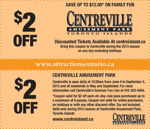 centreville coupons and deals
