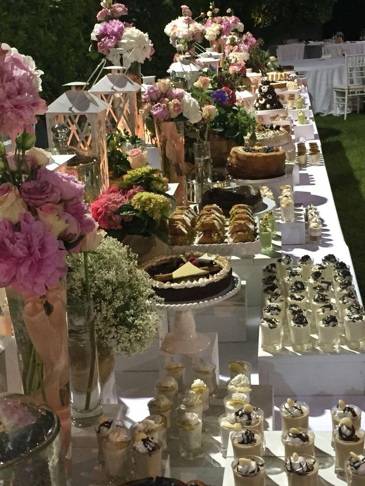 Buffet dei dolci Tenuta Sant Antonio
