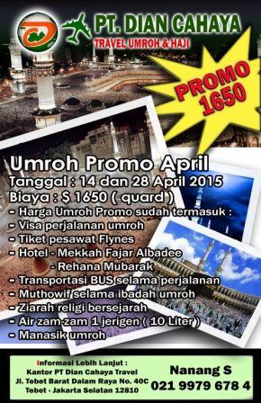 Paket Umroh Promo Murah