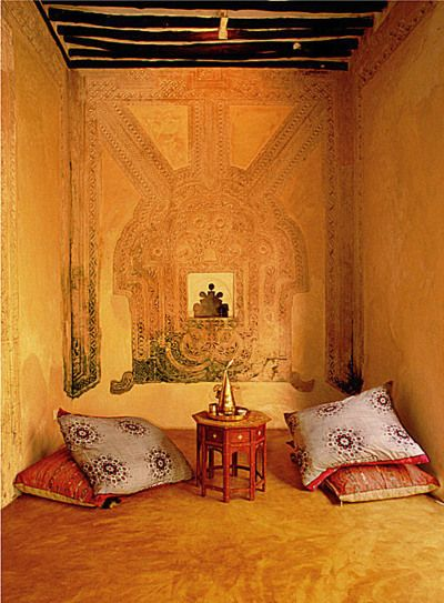 I would love to have a Moroccan style room to do meditation or just relax and read <3