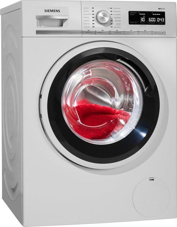 SIEMENS Waschmaschine iQ700 WM14W5ECO, A+++, 8 kg, 1400 U/Min ab 579,00€. Energieeffizienzklasse A+++, sogar 30% sparsamer als der Grenzwert zu A+++ bei OTTO