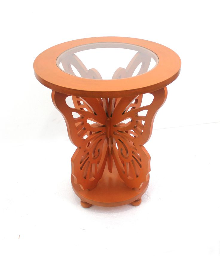 Teton Home Wood Butterfly Table   AF 043
