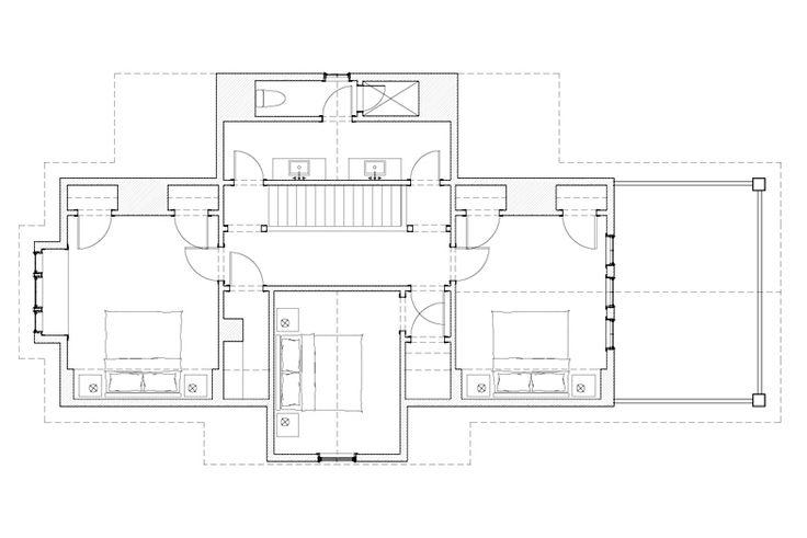 Woodland Cottage Massey Associates Architects Plans