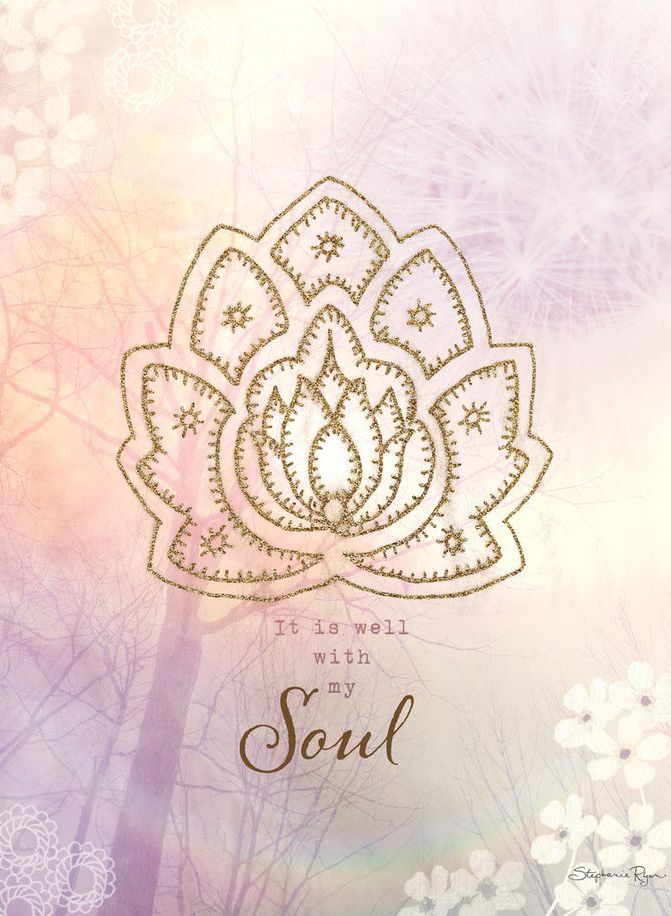 It Is Well With My Soul Art April 2017