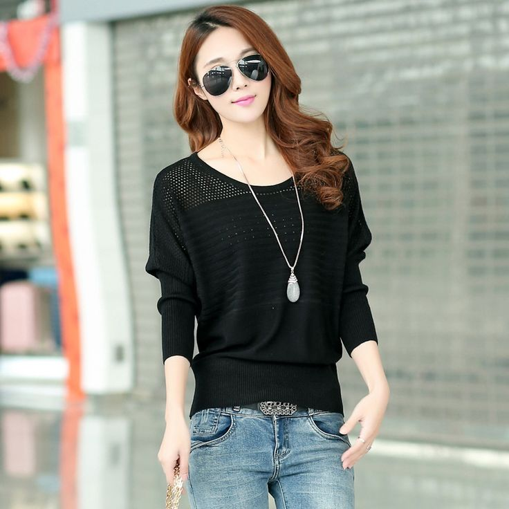Find More Pullovers Information about Hot Sale 2015 New Women Ladies Fashion Knitting Batwing Sleeve Hollow Small Rhombic Hole Casual Sweater Free shipping Y0304 64E,High Quality sweater short,China sweater blouse Suppliers, Cheap shipping boxes post office from Feedback(999)| Orders(2458) on Aliexpress.com