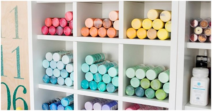 12 Clever But Gorgeous Craft Storage Solutions