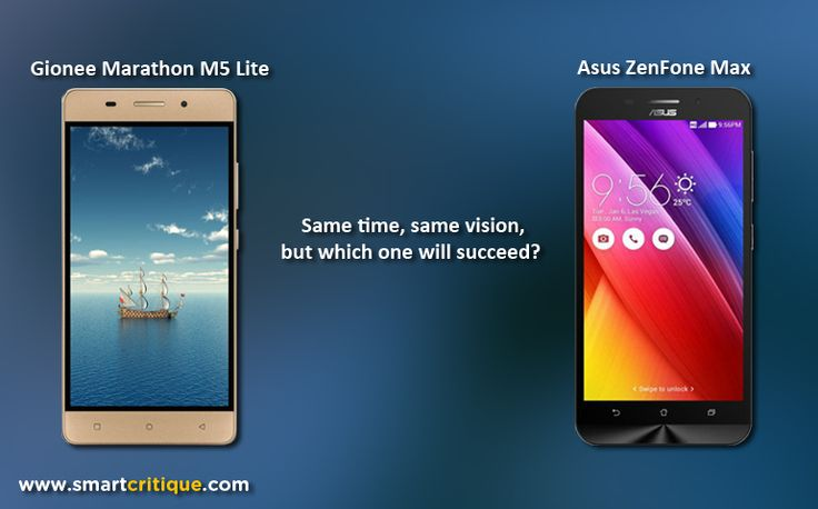 Gionee Marathon M5 lite is powerful, but Asus Zenfone Max More Balanced Device