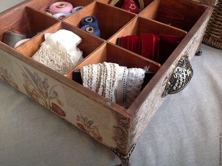 """Купить Шкатулка """"Дом любимой мамы"""" - дом, шкатулка, шкатулка для рукоделия, коробка для мелочей"""