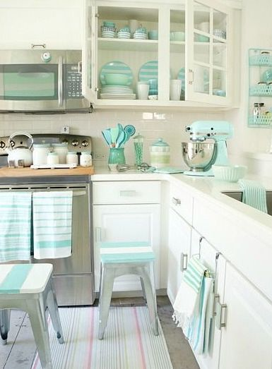 134 Best Tiffany Blue Kitchen Decor Ideas Images On Pinterest