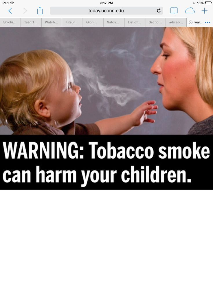 Megan cousins: This is positive to me because smoking is very bad for people and children. More people should know not to smoke or at least not smoke around children.