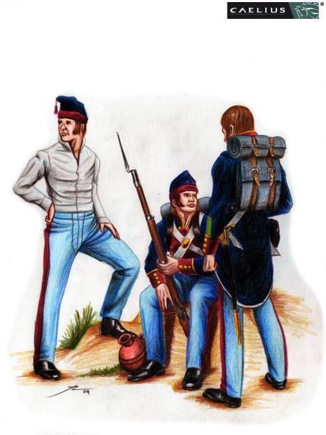Soldados del Batallón de San Patricio