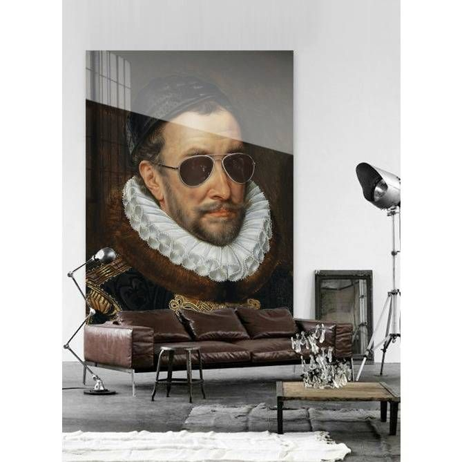 Willem I by the famous Dutch painter Key with a funny surpise from Arty Shock! wonenmetlef.nl