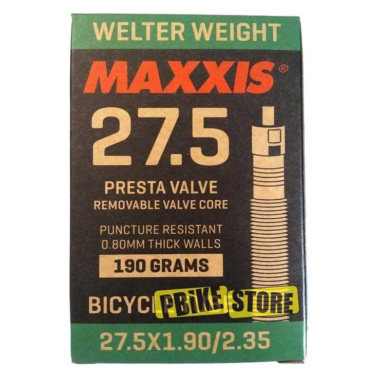 Camera D'Aria Maxxis MTB 27.5x1.90-2.35 Welter Weight Presta con meccanismo smontabile, peso di soli 190 grammi, IB75078400. Acquista Ora !