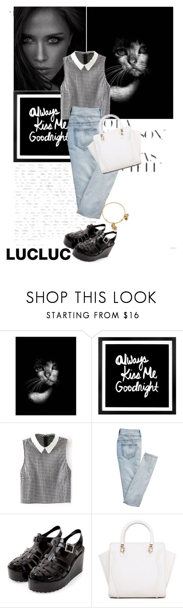 """""""I said:""""Always""""/ LUCLUC.COM"""" by sena-celik ❤ liked on Polyvore featuring NOVICA, Parlane, maurices and Alex and Ani"""