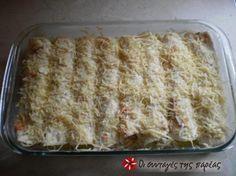 Κοτόπουλο τυλιγμένο σε αράβικη πίτα