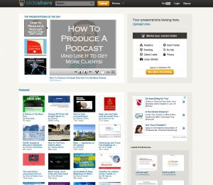 {Question: } Do Your Content Marketing Strategies Include SlideShare? #slideshare #content_marketing