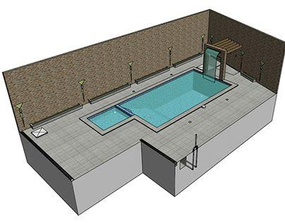 25 melhores ideias de piscina de alvenaria no pinterest for Projeto x piscina