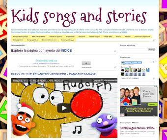Canciones infantiles y cuentos para aprender inglés.