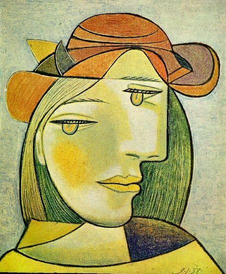 Portrait de Femme 2, 1937|© Pablo Picasso