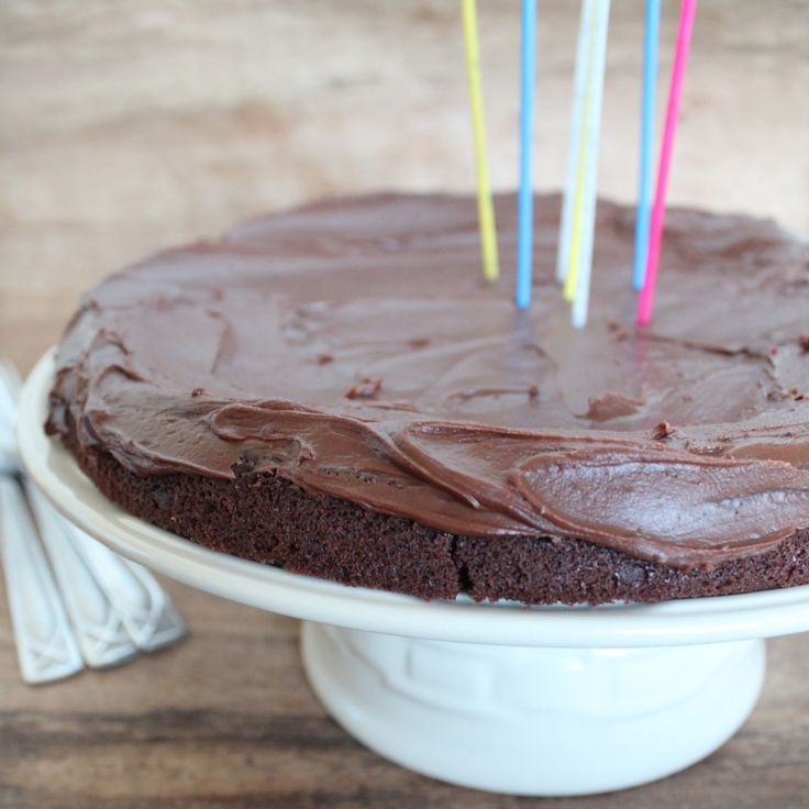Lactose intolerant chocolate cake