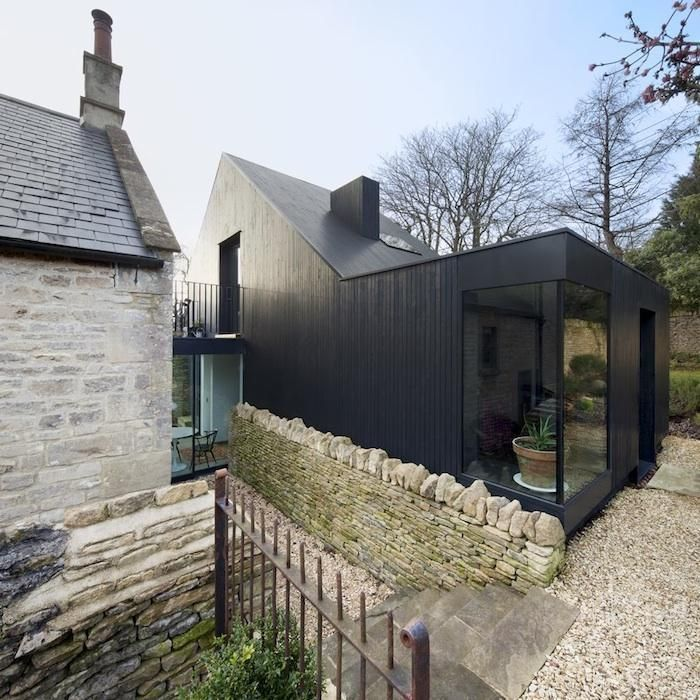 Best 20 wood stone ideas on pinterest line stone for Architecture moderne maison