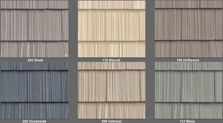 Vinyl Siding Split Shake Like Real Cedar Shake 34 Colors LIFETIME ...