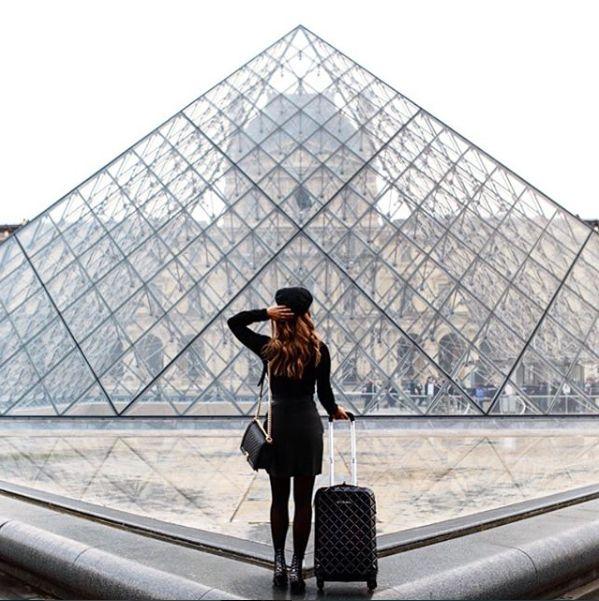 Spotted in the City of Love! @christina_fevre  #jetsetter #paris