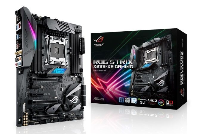 The ASUS ROG Strix X299-XE Gaming Motherboard Review: Strix Refined