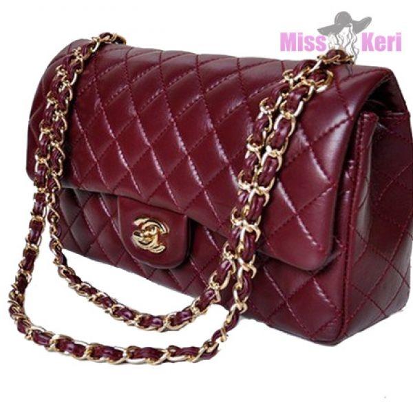 Клатч Chanel 2.55 бордовый купить, цена, интернет-магазин, отзывы