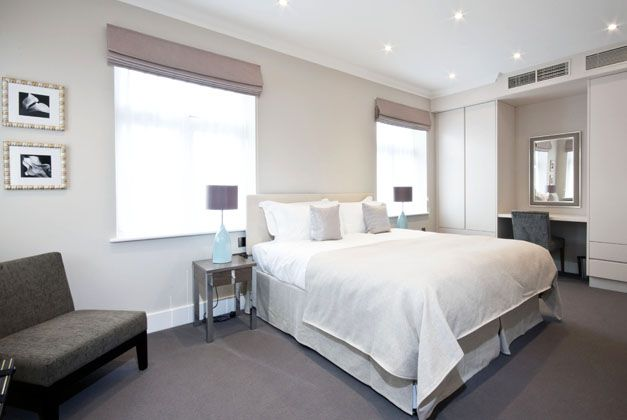 Serviced apartments offer 30% more space than hotel accommodation.