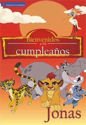 La guardia del León - Página web de diseñokitdecumpleaños