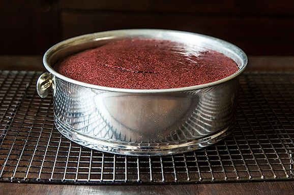 Extremely Moist Chocolate-Beet Cake - Get that Deep Bloody red and Add nutrients to your cake. Genius!!!