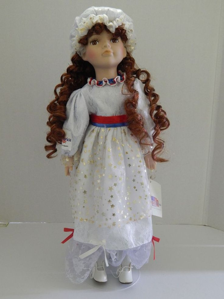 """911 Remembrance Doll """"Miss Liberty"""" Spirit of America Series 18"""" Doll"""