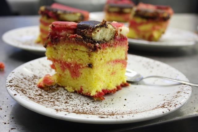 "Handmade cake called ""Zuppa inglese"", via Flickr."
