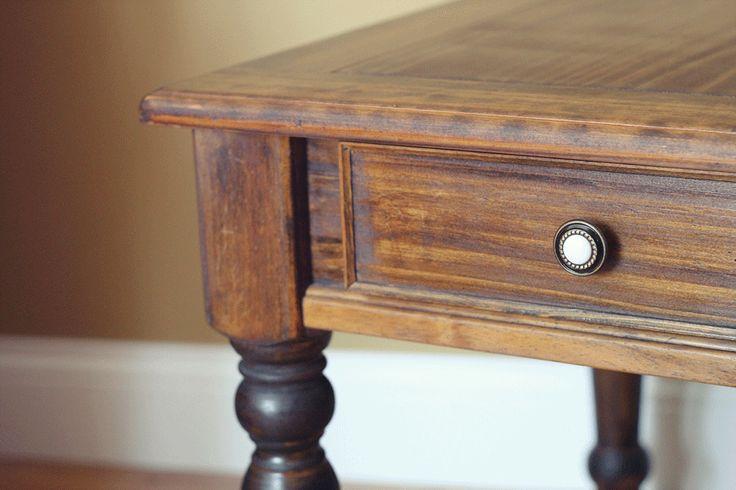 Weather pine furniture