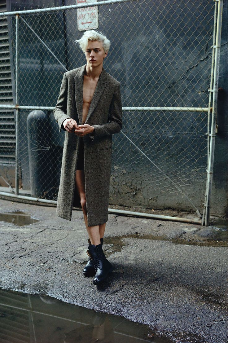 Yes to Well Dressed | Fashion Blog — Lucky Blue Smith captured by Chad + Paul and...