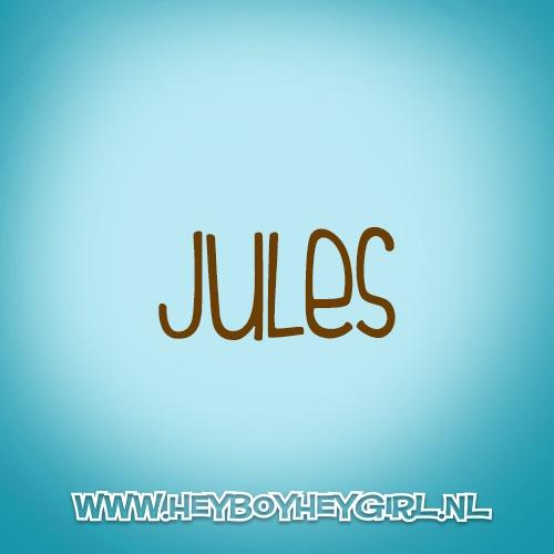 Jules (Voor meer inspiratie, en unieke geboortekaartjes kijk op www.heyboyheygirl.nl)