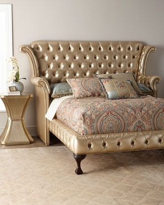 Champagne+Carter+California+King+Bed++and+Matching+Items+by+Haute+House+at+Horchow.
