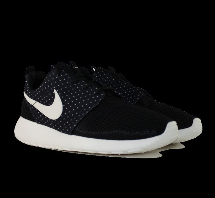 Wmns Nike Roshe Run Black Sail