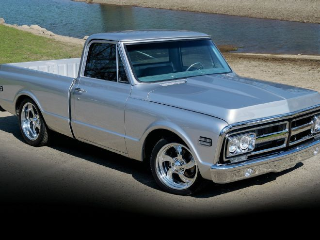 """Jason's 1970 GMC Truck has been transformed from a """"purple beater"""" to a true Silver Medal winner after nearly 10 years of restoration."""