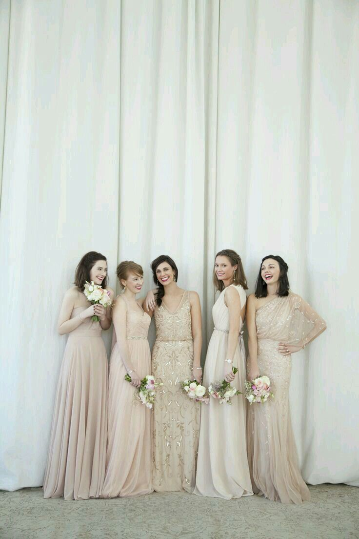 26 best bridesmaid dresses images on pinterest flower girls ideas for mix match bridesmaids ombrellifo Choice Image