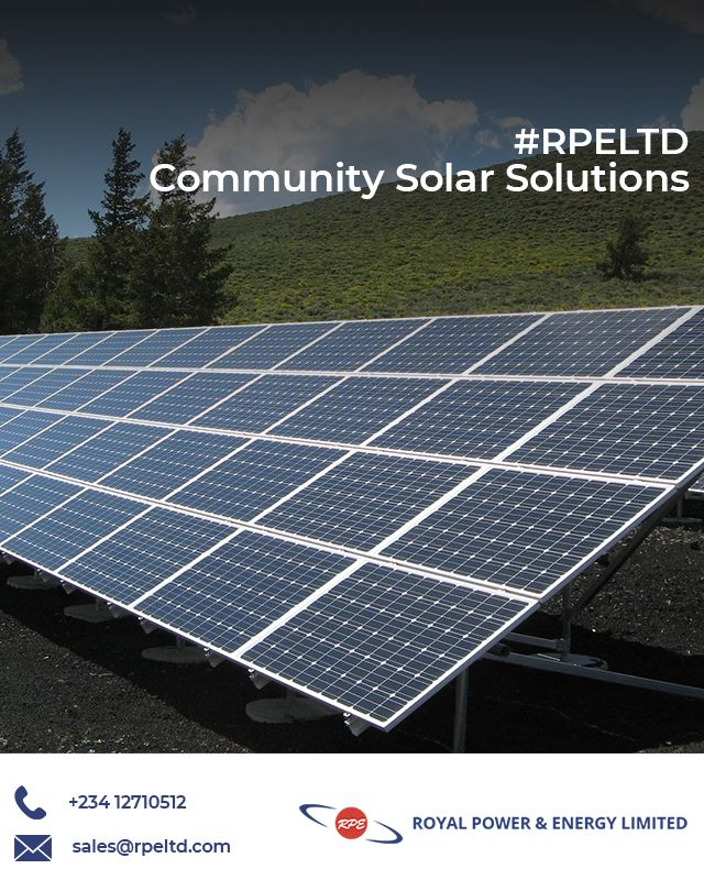 Our Community Solar Solutions Can Power Dozens Of Houses This System Is Simple Economical And Environment Friendl Solar Solutions Solar Solar Power Energy