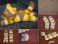 Making sock toys are so sweetand fun. And the most important thing is that you don't need to have extraordinary skills to make a sock animals because it is already very easy project. If you want to create your sock animal, in this post we want to share a cool tutorial on how to create