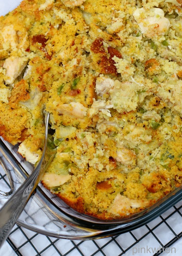 Chicken And Dressing Casserole Paula Deen-5066